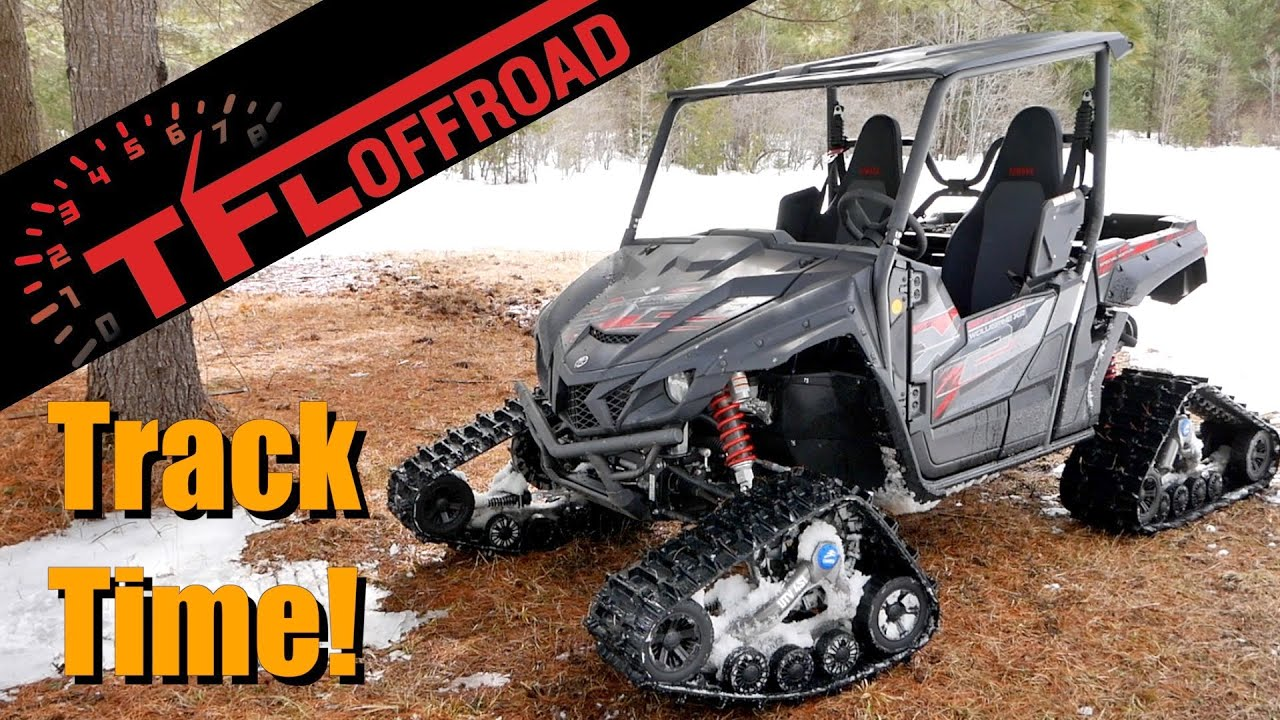 2019 Yamaha Wolverine X2 With Camso Tracks In Depth First Look Mud Sand And Snow Ready