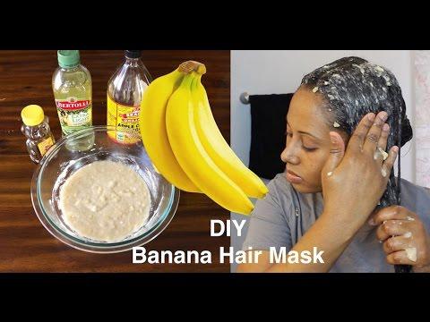 Your hair will GROW like CRAZY! Banana Hair Mask