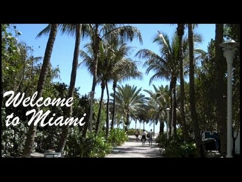 welcome to miami miami beach florida youtube. Black Bedroom Furniture Sets. Home Design Ideas