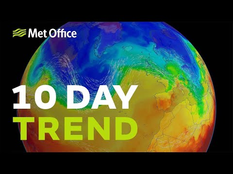 10 Day Trend - How long will the cold weather last?