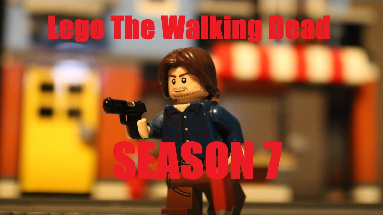 Lego The Walking Dead Season 7 Episode 13 - Alone