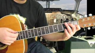 Easy Acoustic Song Lesson - American Idol - Elvis - a little less conversation