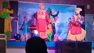 Punjabi Lok Nach Bhangda by Yaad Sidhu