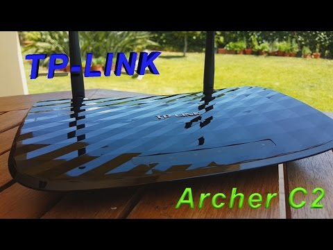 TP-Link Archer C2 AC750 Gigabit Dual Band 2.4Ghz and 5Ghz