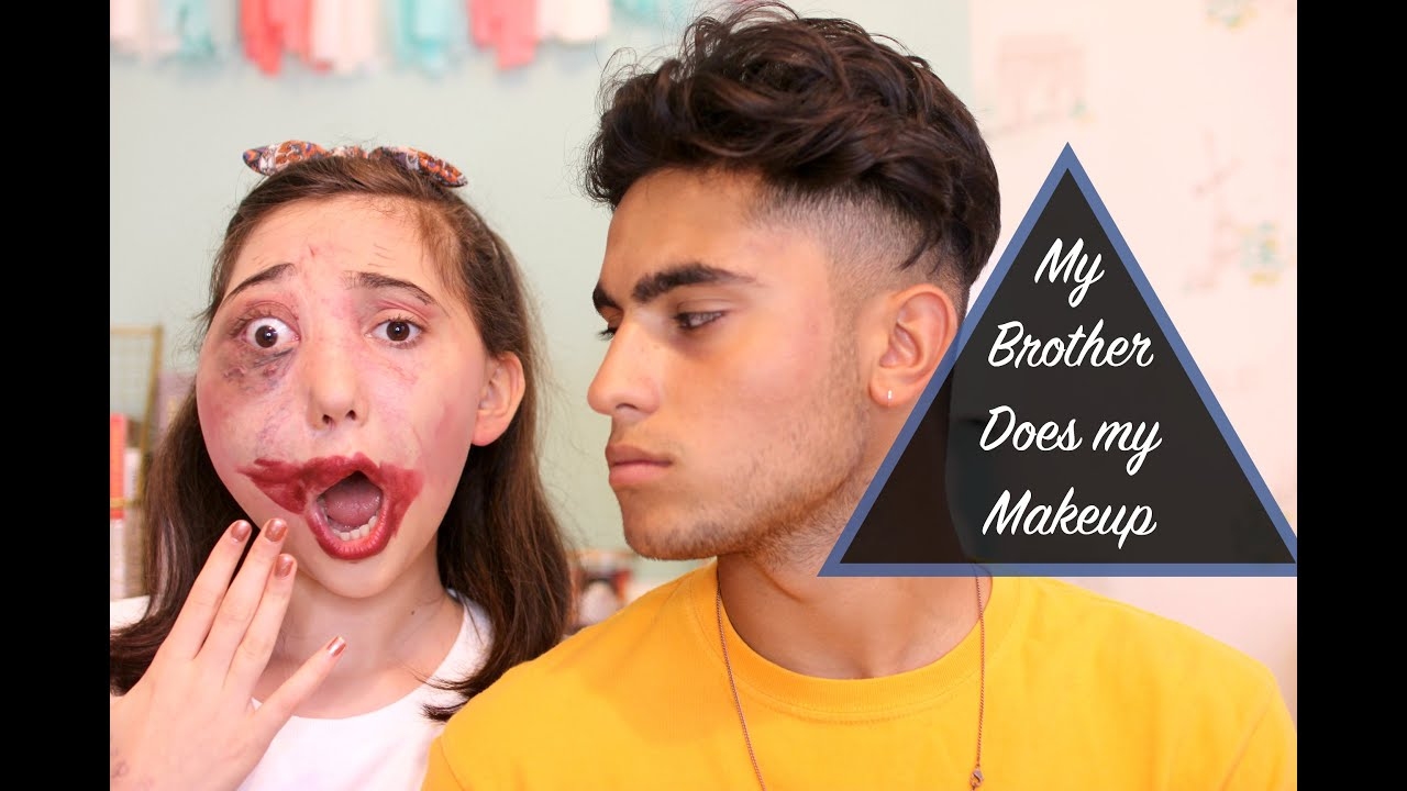 My Brother Does My Makeup  Nikki Lilly - Youtube-2918