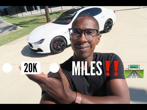 20,000 Mile Maserati Ghibli Ownership Review