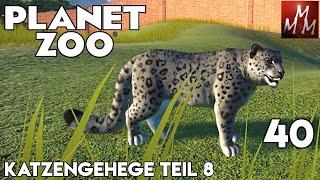 Planet Zoo 40 • Katzengehege Teil 8: Schneeleopard • Let's Play • Franchise Mode