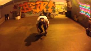 Brazen Matt SWITCH treflip a plastic skateboard