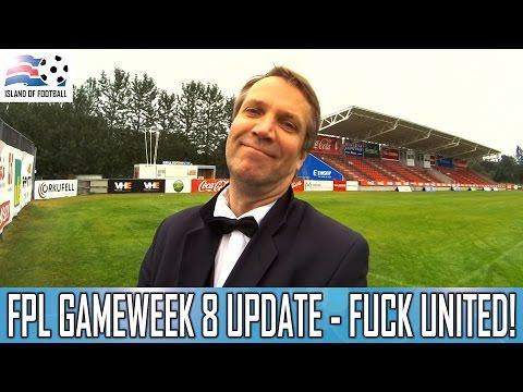 Fantasy Premier League 2016/2017 GW8 - FUCK UNITED!