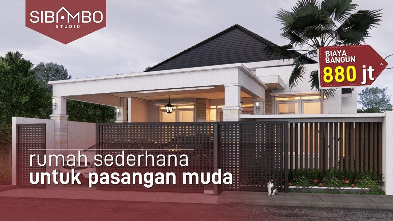 rumah minimalis lantai 1 sederhana