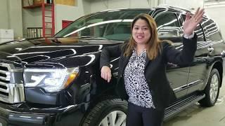 2018 Toyota Sequoia Platinum Edition