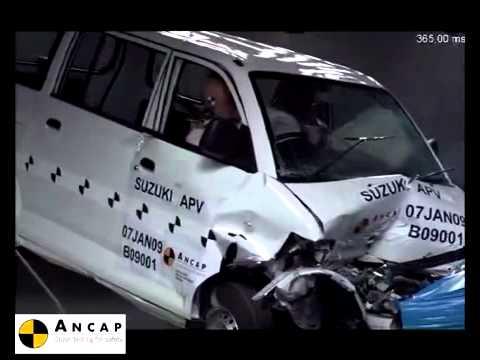 Suzuki Mobil Apv Safety Test