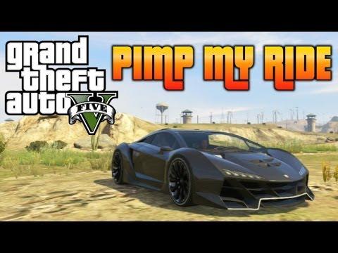 GTA 5 - Pimp My Ride #72 | Pegassi Zentorno (Lambo Sesto Elemento) Car Customization!