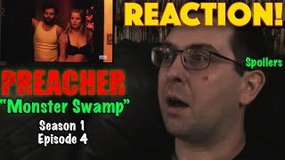 "REACTION! Preacher ""Monster Swamp"" Season 1, Episode 4"