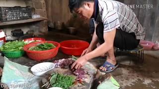 LẠP TRÂU (món kinh dị )Dân Tộc Thái Tây Bắc |DÂN TỘC TÂY BẮC