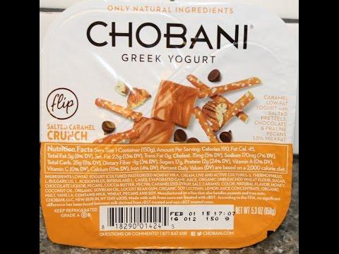 Chobani Flip Salted Caramel Crunch Review