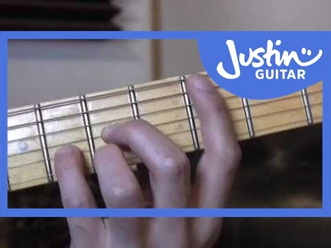 The CAGED System (Guitar Lesson TB-030) How to play - YouTube