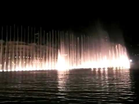 Dubai Fountain | Dubai's Latest Top Attraction Places | Best Travel Packages