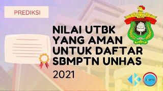 Nilai UTBK yang Aman untuk Daftar SBMPTN Unhas 2021