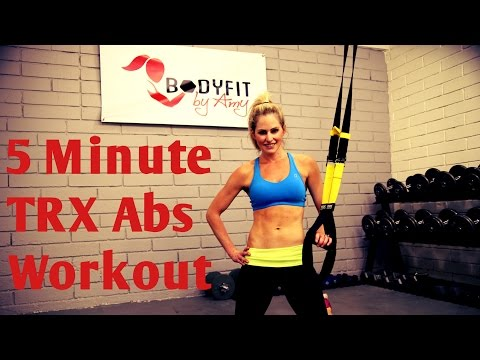 TRX 5 Minute Abs Workout