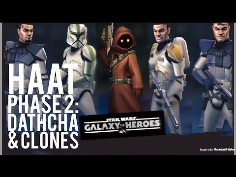 HAAT Phase 2: 6.6m Dmg - New Record - Clones Dathcha - SWGOH