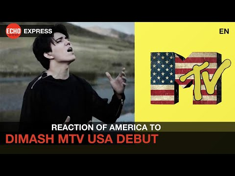 Dimash - Reaction of Americans - MTV USA Qairan Elim Debut - First Kazakh Song on AMERICAN TV
