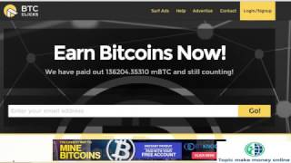 How to Earn Bitcoin FREE - BTC Click Ads Payment Proof earn Bi…