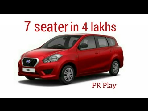 Datsun go plus 7 seater car - YouTube