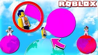 THE WORLD'S BIGGEST CHICLE EXPLODES ME IN THE FACE in ROBLOX😂 Bubble gum simulator