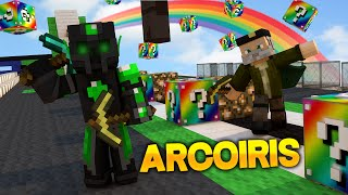 Lucky Blocks ARCOIRIS!! - Willyrex vs sTaXx - Carrera épica Lucky Blocks