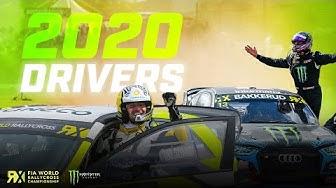 Introducing: 2020's DRIVERS 🤩 | FIA World Rallycross