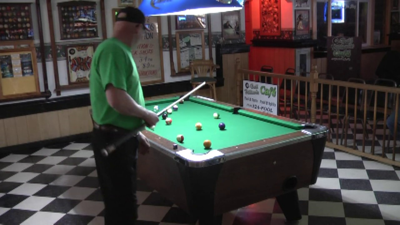 8-Ball Billiards Pool Tourney part Two  3-23-13