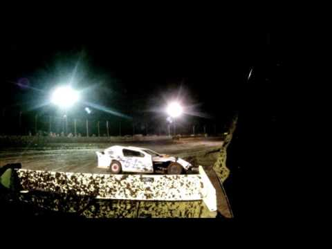 IMCA SportMod Marysville Raceway Modified Crash