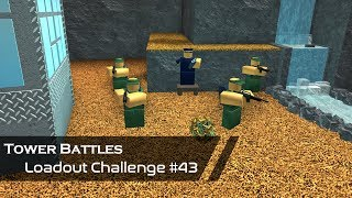 Grenadier Gruppe | Loadout Challenge #43 | Tower Battles [ROBLOX]