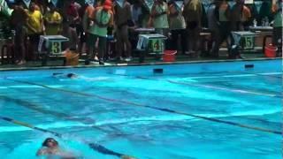游泳國家代表隊簡瑞廷參加國稅盃游泳比賽200公尺混合式