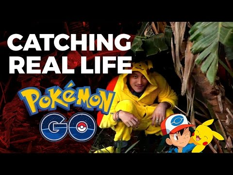 Catching Real Life Pokemon -  Pretoria Zoo South Africa