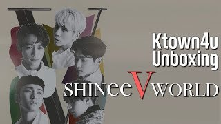 [Ktown4u Unboxing] SHINee - SHINee World V in Seoul DVD 샤이니