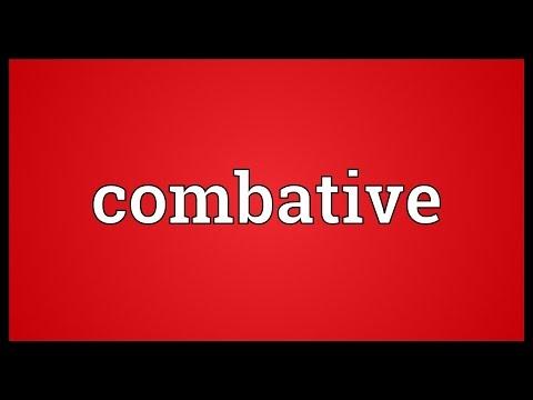 Header of combative