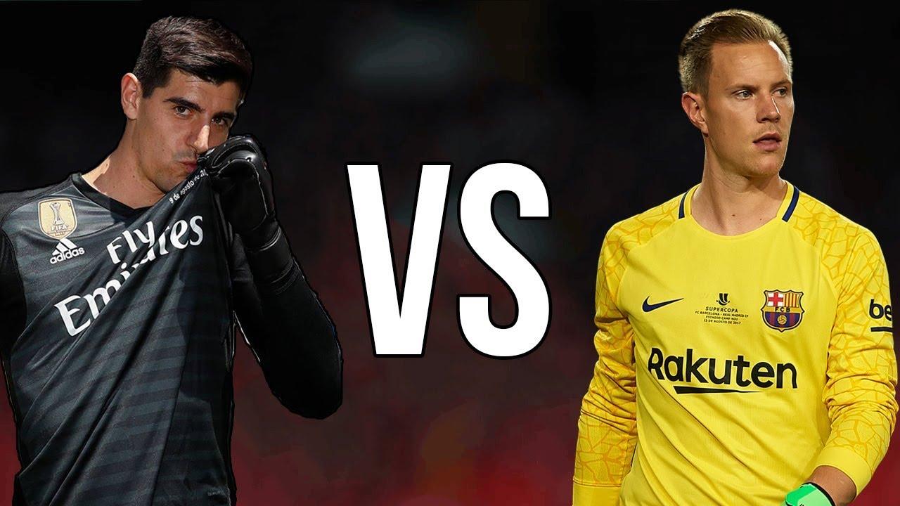 Ter Stegen vs Thibaut Courtois ○ El Clasico - Who's The Best !? - YouTube