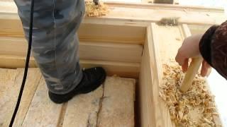 видео Как построить коттедж из профилированного бруса