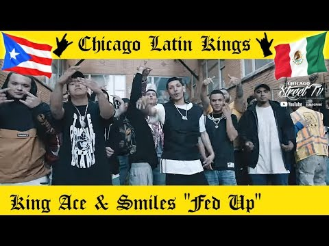 "KING ACE & SMILES ""Fed Up"" [NEW LATIN KINGS GANG DRILL RAP CHICAGO!!] CHICANO RAP 2020 ALKQN 👑 🤴🏽"