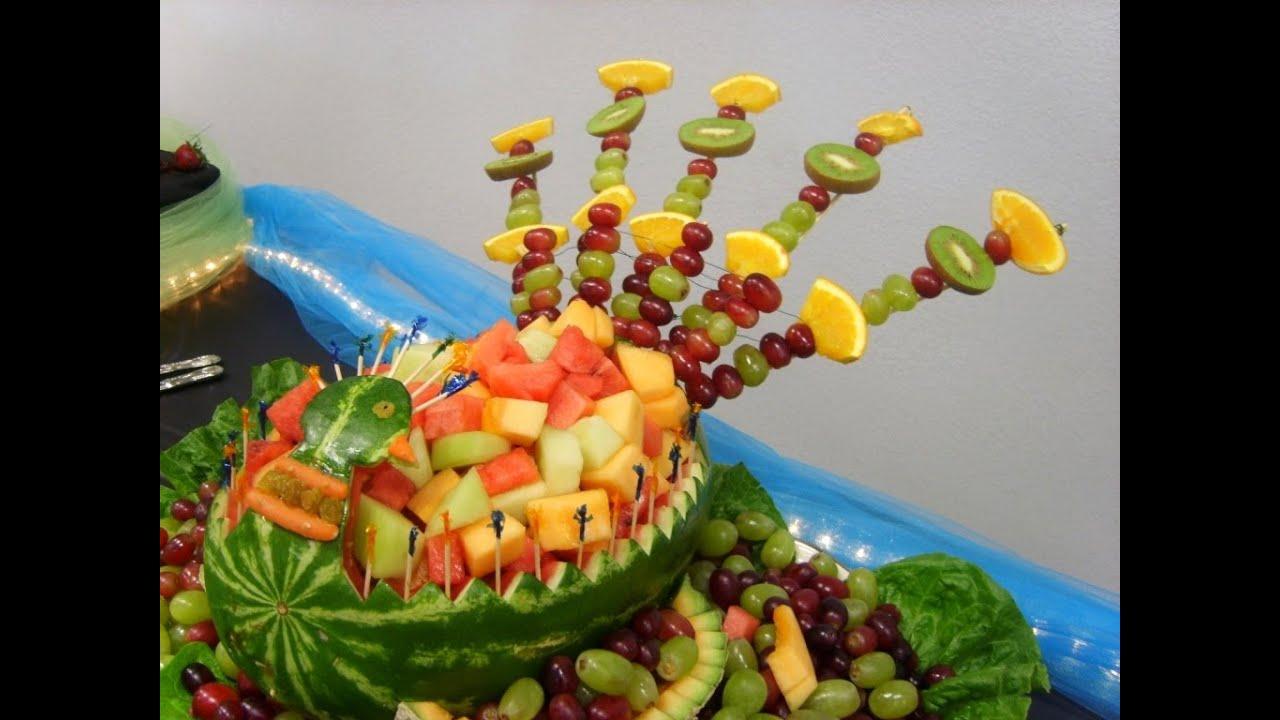 Como Armar Brochetes De Frutas Para Cascada De Chocolate