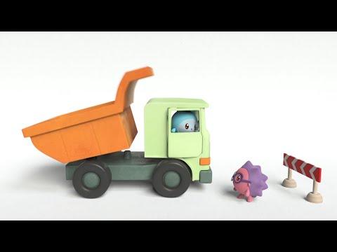 Обучающие мультики: Малышарики - Самолётик (23 серия)