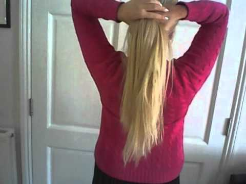 22 inch extensions cliphair youtube pmusecretfo Image collections