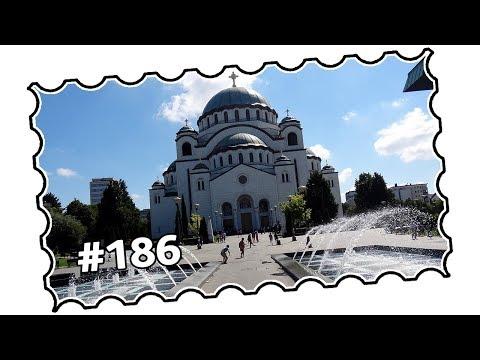#186 - Serbia, Belgrade - Vidikovac, Banjica, St  Sava Cathedral, city centre (06/2017)