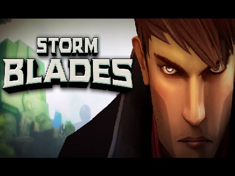 Stormblades Android IOS Gameplay (Like Infinity Blade)