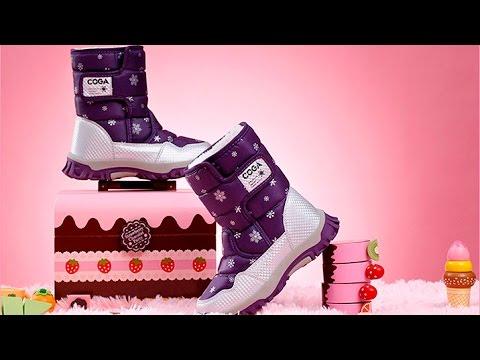Детские зимние сапоги для дочки с Aliexpress.