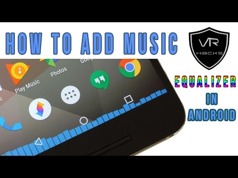 How To Add Music Equalizer To Navigation Bar In Android