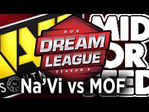Navi vs Mid Or Feed Game 1, DreamLeague Season 8 live