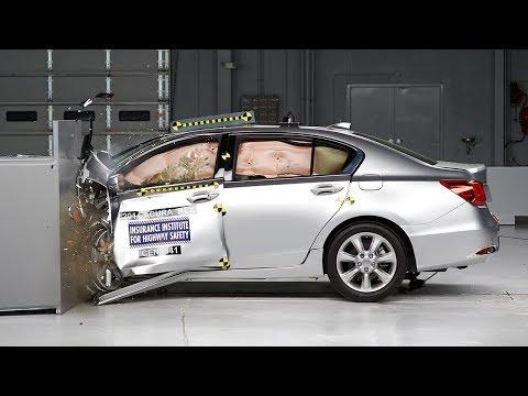 2014 Acura RLX Çarpışma Testi